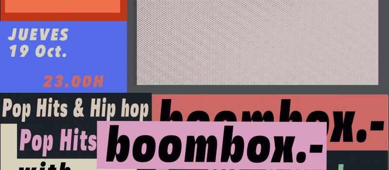 BOOMBOX 19 OCT
